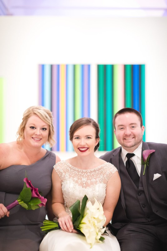 An Intimate September Wedding at The Loft at 600F & The National Portrait Gallery 34