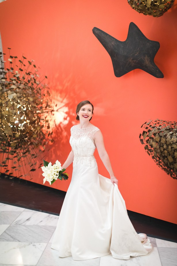 An Intimate September Wedding at The Loft at 600F & The National Portrait Gallery 36