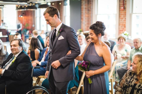 An Intimate September Wedding at The Loft at 600F & The National Portrait Gallery 46