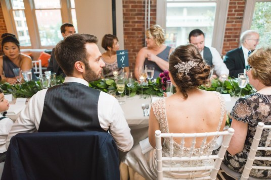 An Intimate September Wedding at The Loft at 600F & The National Portrait Gallery 77