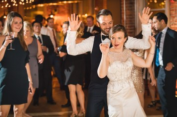 An Intimate September Wedding at The Loft at 600F & The National Portrait Gallery 94