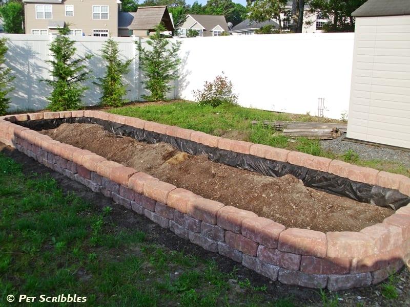 Raised Garden Mix Soil Box