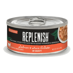 Replenish Salmon & Tuna Entrée in Gravy Cat Can Food