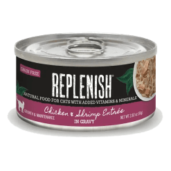 Replenish Chicken & Shrimp Entrée in Gravy Cat Can Food