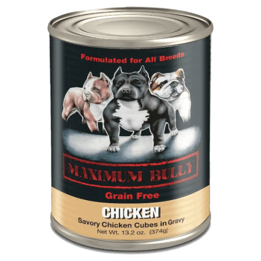 Maximum Bully Chicken Can Dog Food
