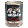 Maximum Bully Chicken and Beef Can Dog Food