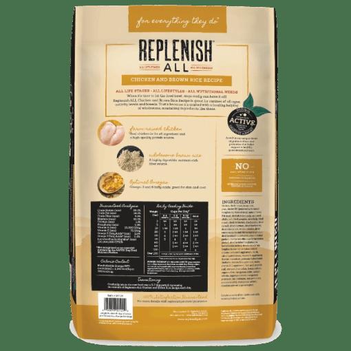 Replenish Classic Chicken 24lb bag back