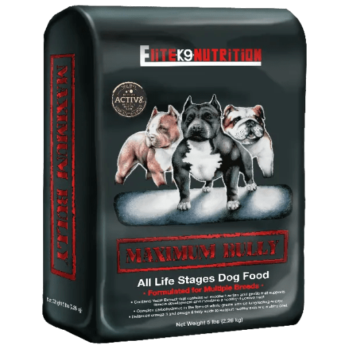 Maximum Bully Dry Dog Food.
