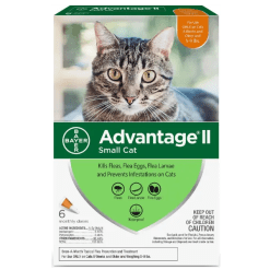 Advantage II for Cats 5-9 lbs.
