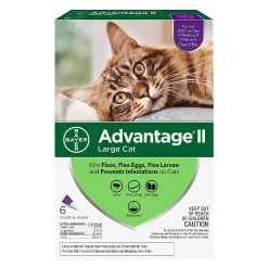 Advantage II Flea Treatment for Cats Over 9 lbs.