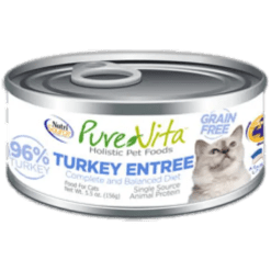 Nutri Source Pure Vita 96% Turkey, Cat Can Food.