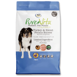 NutriSource Pure Vita Dog Grain Free Turkey Sweet Potato 15lb.
