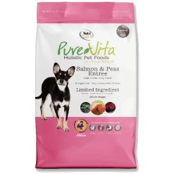 NutriSource Pure Vita Dog Grain Free Salmon Pea 15lb.