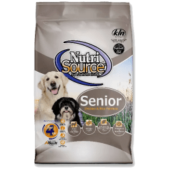 NutriSource Dog Senior Chicken Rice 5lb.
