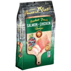Fussie Cat Salmon & Chicken Recipe.