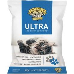 Precious Cat Litter Ultra 40 lb bag.