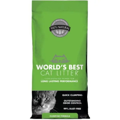 Worlds Best Unscented Cat Litter 28 lb.