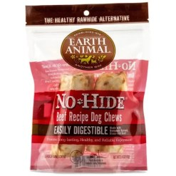 Earth Animal No-Hide Beef Chew, 4-in, 2 Pack.