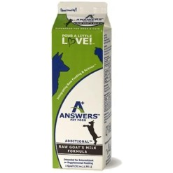 Answers Fermented Raw Goat Milk, 32-oz.