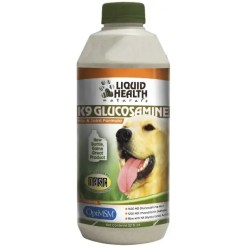 Liquid Health Pets Original K9 Glucosamine Dog Supplement, 32-oz Bottle.