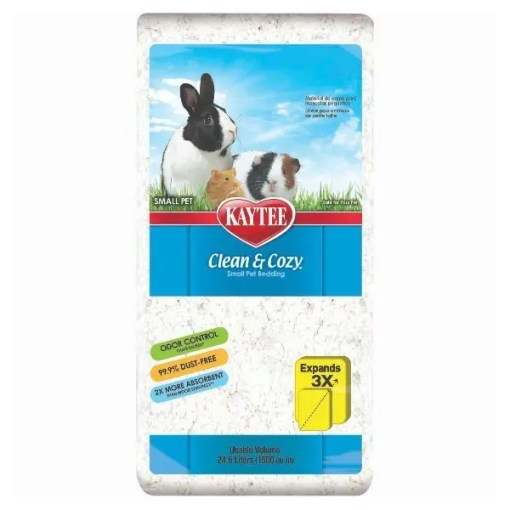 Kaytee Clean & Cozy Small Animal Bedding White 24.6.