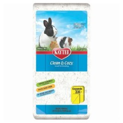 Kaytee Clean & Cozy Small Animal Bedding White 24.6.