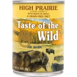 Taste of the Wild High Prairie Grain-Free Canned Dog Food, 13-oz, Case of 12.