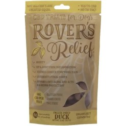 Rover's Relief 4MG CBD Freeze Dried Bites - 100% THC Free, 60 Pack.