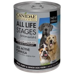CANIDAE Life Stages Platinum Formula Canned Dog Food, 13-oz Can. Case of 12.