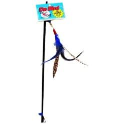 Go Cat Da Bird Pull Apart Feather Cat Toy.