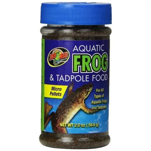 Zoo Med Aquatic Frog & Tadpole Food, 2-oz Jar.