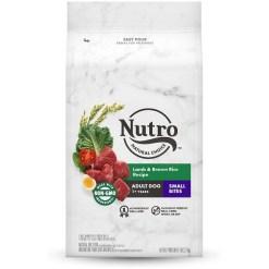 Nutro Natural Choice Small Bites Adult Lamb & Brown Rice Recipe Dry Dog Food, 5-lb SKU 7910511624