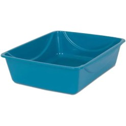 Petmate Basic Cat Litter Pan, Large side.