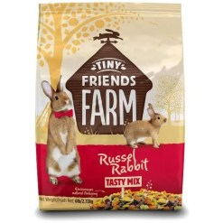 Tiny Friends Farm Russel Rabbit Food, 6-lb Bag.