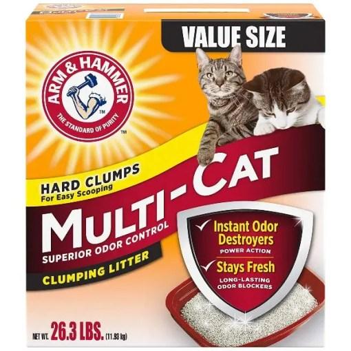Arm & Hammer Multi-Cat Strength Clean Burst Clumping Litter, 26.3-lb.