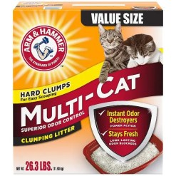 Arm & Hammer Multi-Cat Strength Clean Burst Clumping Litter, 26.3-lb.