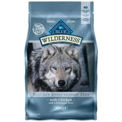 Blue Buffalo Wilderness Chicken Dog, 4.5-lb Bag.