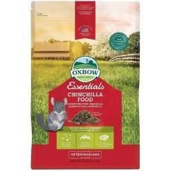 Oxbow Essentials Chinchilla Chinchilla Food, 3-lb Bag.