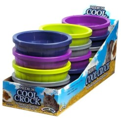 Kaytee Cool Crock Small Animal Dish, Medium.