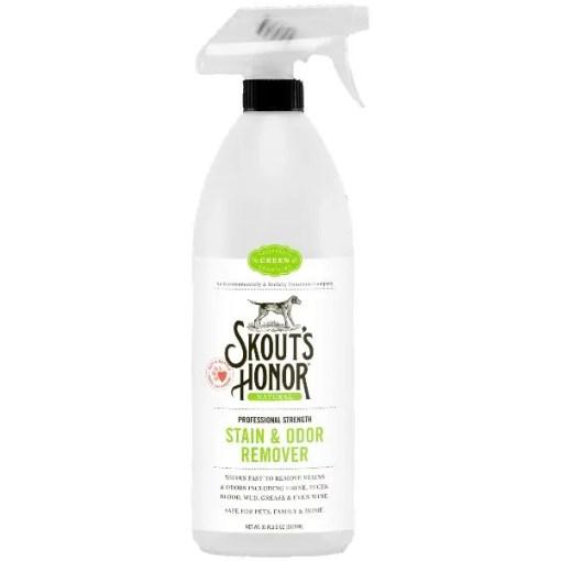 Skout's Honor Professional Strength Stain & Odor Remover Spray, 35-oz Bottle.