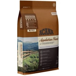 Acana Regional Appalachian Ranch Grain-Free Dog Food, 25-lb Bag.