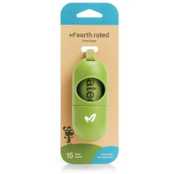 Earth Rated PoopBags Dispenser with 15 Bags.