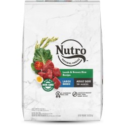 Nutro Natural Choice Large Breed Adult Lamb & Brown Rice Recipe Dry Dog Food, 30-lb 7910511637