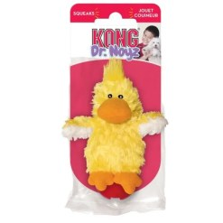 KONG Dr. Noyz Duck Plush Dog Toy, Extra Small.