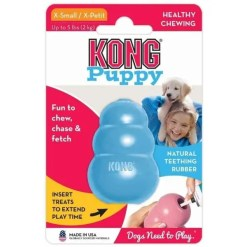 KONG Puppy Dog Toy, Extra Small.