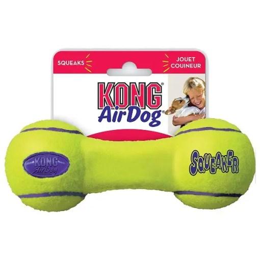 KONG AirDog Dumbbell Dog Toy, Medium.