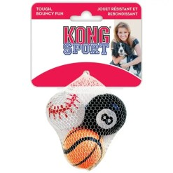 KONG Sport Balls Pack Dog Toy, Small.