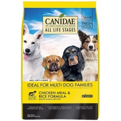 CANIDAE All Life Stages Chicken Meal & Rice Formula Dry Dog Food, 15-lb Bag.