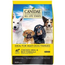 CANIDAE All Life Stages Chicken Meal & Rice Formula Dry Dog Food, 30-lb Bag.