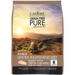 CANIDAE Grain-Free PURE Elements with Chicken Limited Ingredient Diet Dry Cat Food, 10-lb.